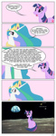 comic crossover didjargo highres moon portal princess_celestia space_core twilight_sparkle wheatley