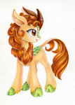 autumn_blaze kirin maytee traditional_art
