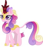 cloudyglow highres kirin princess_cadance species_swap vector