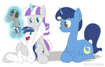colt erthilo magic parents plushie shining_armor smarty_pants toy twilight's_dad twilight_velvet