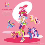 applejack fluttershy humanized jump_rope main_six nitlo pinkie_pie rainbow_dash rarity smile species_confusion twilight_sparkle