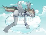 anthro cloud discordified dragontheshadows rainbow_dash