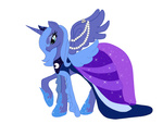 dress emerald-glaceon gala_dress highres princess_luna transparent
