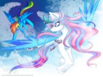 blackwingedlunawolf g3 generation_leap rainbow_dash star_catcher
