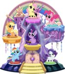 absurdres applejack fluttershy highres main_six phucknuckl pinkie_pie princess_twilight rainbow_dash rarity twilight_sparkle vector