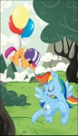 rainbow_dash scootaffection scootaloo topshot