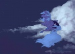 cloud horselike noel princess_luna