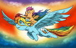mustlovefrogs rainbow_dash scootaloo