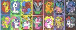 applejack feathermay fleur fluttershy king_sombra original_character princess_cadance princess_celestia princess_luna queen_chrysalis rainbow_wishes rarity skypinpony sunset_shimmer sweetie_belle tarot thunderlane