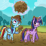 madmax rainbow_dash twilight_sparkle
