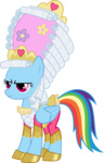 fancy fehlung hat highres rainbow_dash saddle shoes transparent vector