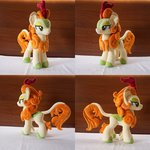 absurdres autumn_blaze egalgay highres kirin photo plushie toy