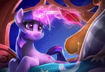 imdrunkontea magic twilight_sparkle