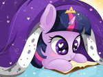bed book crown filly heart sunshineshiny twilight_sparkle