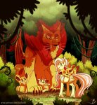 fluttershy forest inuhoshi-to-darkpen manticore trees