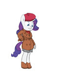 anthro coat hat rarity siansaar