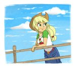 applejack equestria_girls highres humanized ilacavgbmjc