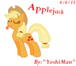 applejack transparent yoshiman