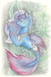 daisymane merponies princess_luna traditional_art