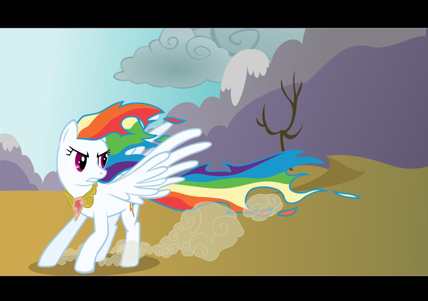 видео белая радуга пони