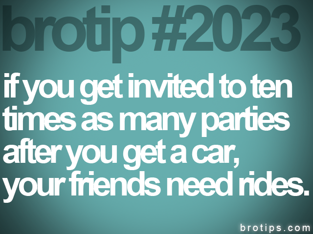 brotip #2023 if you get invited to ten<br>