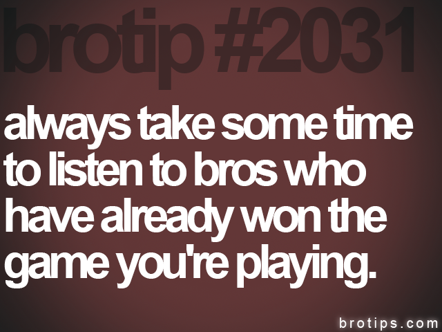 brotip #2031 always take some time<br>