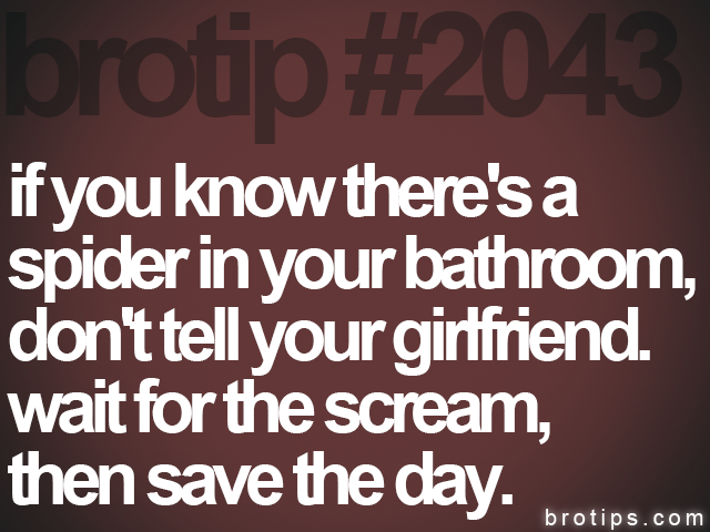 brotip #2043 if you know there's a<br>