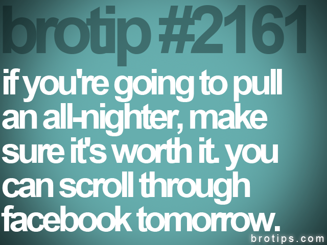 brotip #2161 if you're going to pull<br>