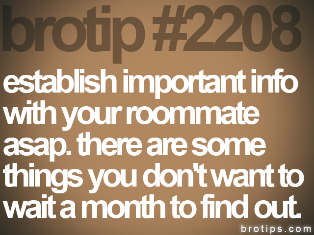 brotip #2208 establish important info<br>
