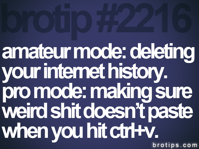brotip #2216 amateur mode: deleting<br>