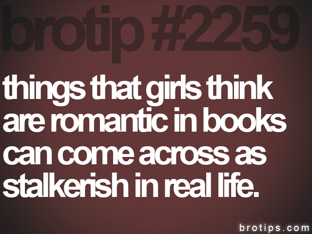 brotip #2259 things that girls think<br>