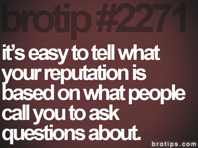 brotip #2271 it's easy to tell what<br>