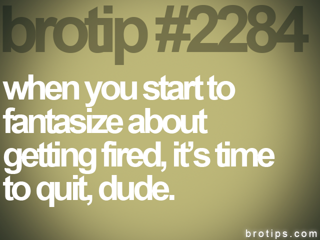 brotip #2284 when you start to<br>