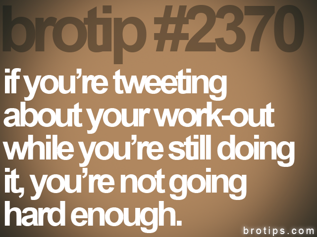 brotip #2370 if you're tweeting<br>