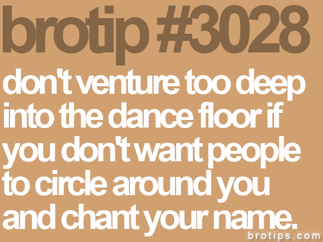 brotip #3028 don't venture too deep<br>