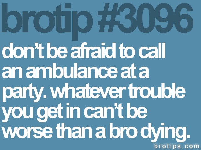 brotip #3096 don't be afraid to call<br>