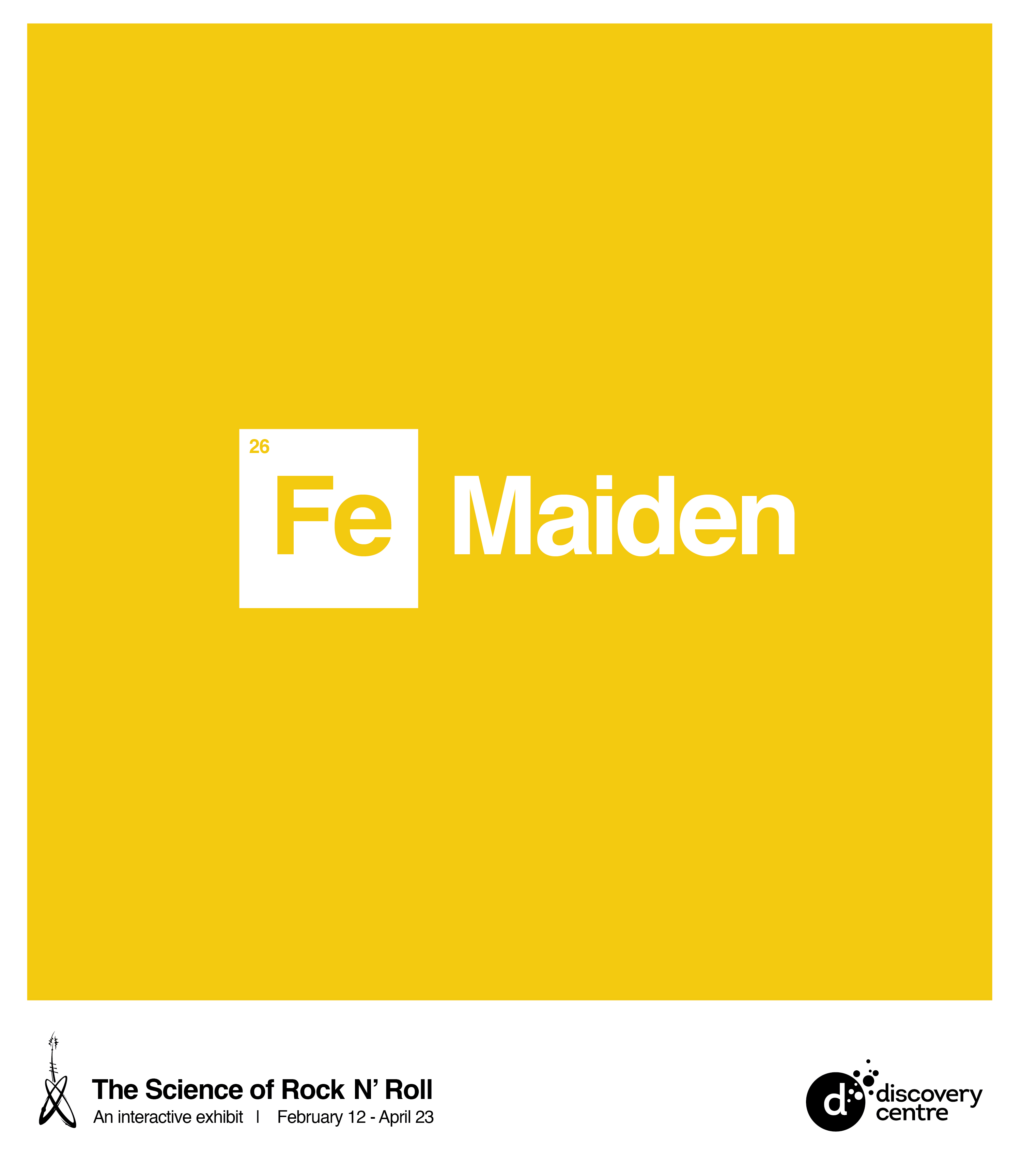 Marketing awards 2017 winners famous bandmusician names for their elemental abbreviations found on the periodic table iron maiden became fe maiden while freddie mercury became urtaz Gallery