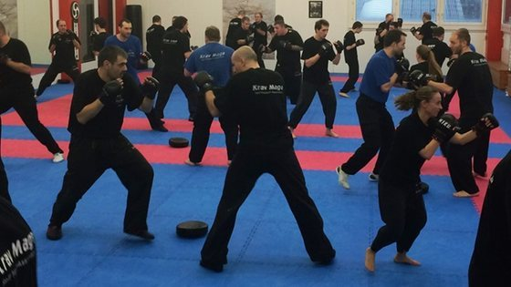 Krav maga self protect sparring