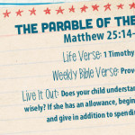 Week of August 14—The Parable of the Talents—Social Media Plan