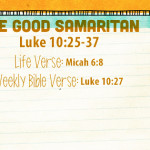 Week of August 28—The Good Samaritan—Social Media Plan