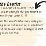Week of March 19 – John the Baptist – Social Media