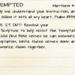 Week of March 26 – Jesus Was Tempted – Social Media