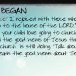Week of May 7 – The Church Began – Social Media