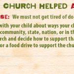 Week of June 25—The Church Helped—Social Media Plan