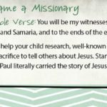 Week of July 9—Paul Became a Missionary—Social Media Plan