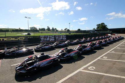 <b>The fleet of karts at Whilton Mill await the best drivers from BSKC 2017.</b>