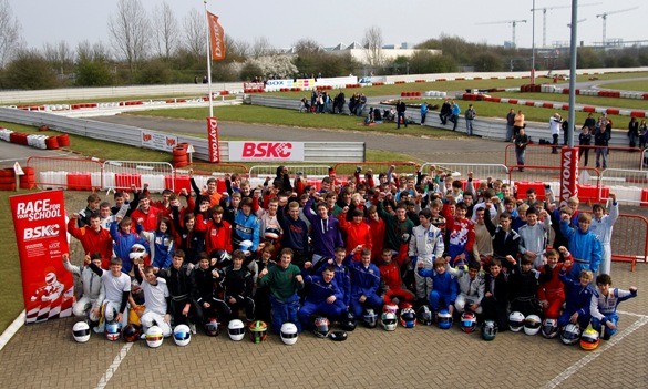 BSKC 2011 National Final drivers at Daytona Milton Keynes