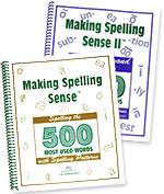 Making Spelling Sense™ and Making Spelling Sense™ II