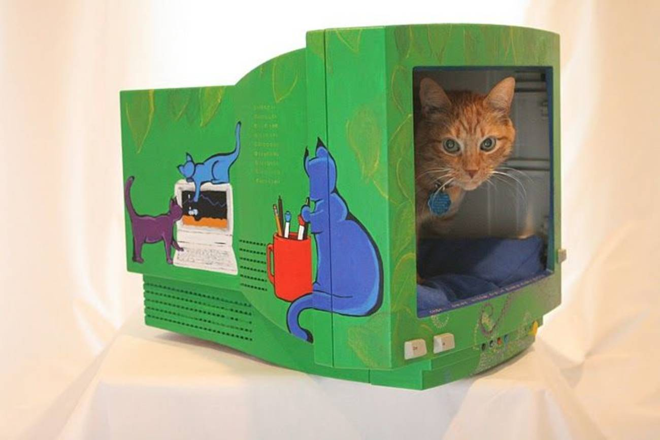 Домик для кошки из футболки Статьи 88