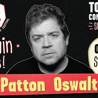 Win tickets to see Patton Oswalt for JFL42